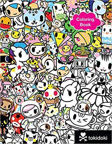 Tokidoki Coloring Book Tokidoki 9781454921813 Amazon Com Books Coloring Books Sketch Book Sterling Publishing