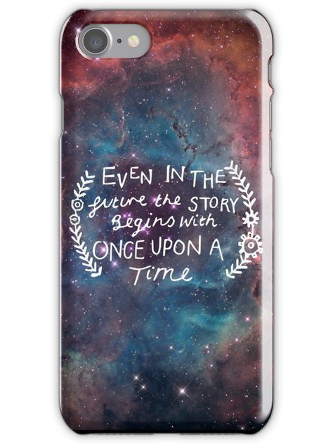The Lunar Chronicles Space Quote iPhone 7 Snap Case