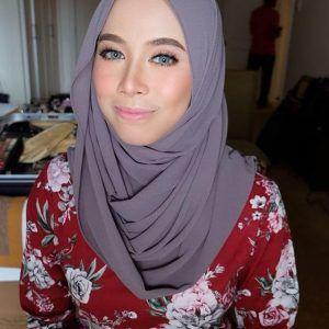 Foto Fatin Husna Bertudung Popular Fashion Hijab
