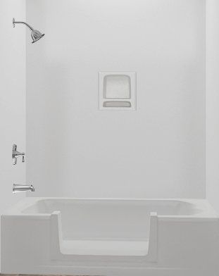 Walk In Tub Conversion Kit Tub To Shower Conversion Kit Large Diy In 2020 Tub To Shower Conversion Shower Conversion Tub Remodel
