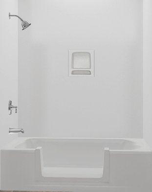 Walk In Tub Conversion Kit Tub To Shower Conversion Kit Large Diy In 2020 Tub To Shower Conversion Shower Conversion Tub Remodel
