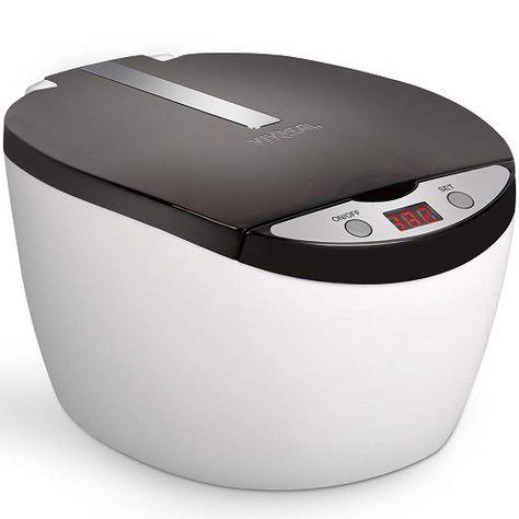 iSonic® Digital Ultrasonic Cleaner D3800A sample jewelry solution white 110V