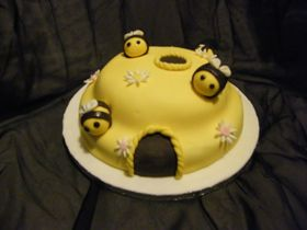 how to make fondant bee you tube