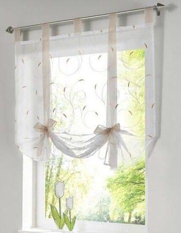 11 Cortinas para ventanas pequenas