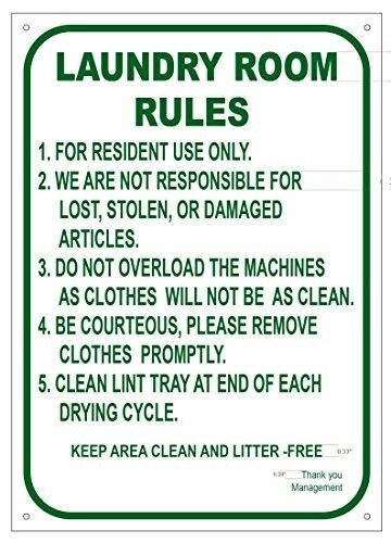 Pin By Ene Bell On Etiquette Laundry Room Sign Materials
