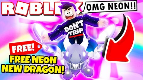 How To Get A Free Neon Shadow Dragon In Adopt Me New Adopt Me Halloween Shadow Dragon Halloween Update Roblox