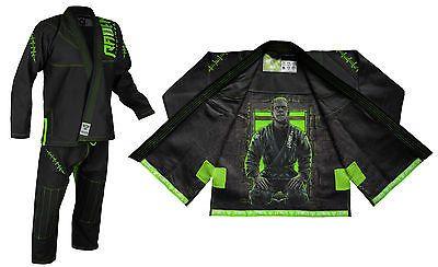 Raven Fightwear Men/'s Ninja MMA BJJ Rash Guard Black