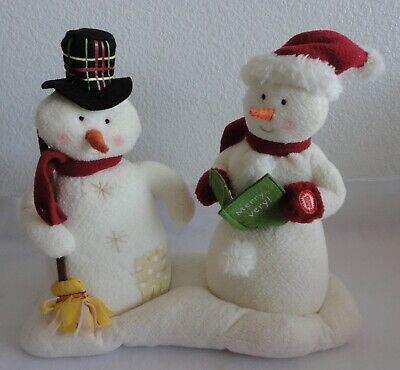 2008 Hallmark Jingle Pal Season/'s Treatings Singing Snowmen Candy Animated WORKS