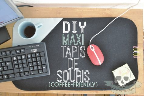 tuto : maxi-tapis de souris {coffee-friendly!} + cadeau inside