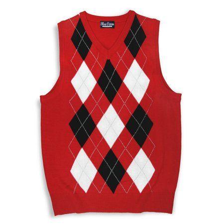 910d088c3 Kids V-neck Argyle Casual Sweater Vest