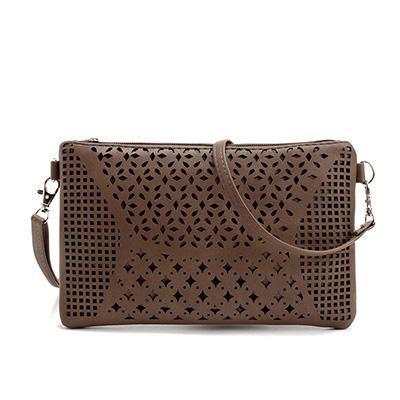 Women Shoulder Bag Leather Envelope Crossbody Messenger Handbag Purse Phone Bags