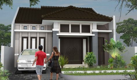 model rumah sangat sederhana (dengan gambar) | rumah minimalis