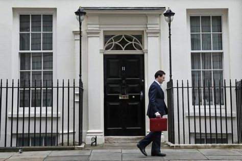 "British finance minister George Osborne on Monday sounded a brighter note on the economy as the country gears up for an election in just over a year, and set a target of ""full employment"".With economic policy likely to form a major electoral battleground in 2015, Osborne said he wanted Britain to have the highest employment rate of the Group of Seven (G7) leading industrialized economies.The pledge, made in a speech to employers and recently hired workers"