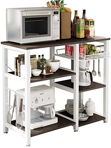 New Sogespower 3 Tier Kitchen Baker S Rack Microwave Stand Storage