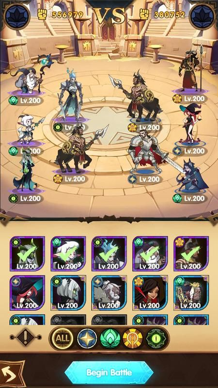 Image Result For Afk Arena Android Interface Afk Arena Trip