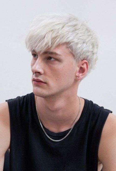 Taglio capelli uomo con frangia