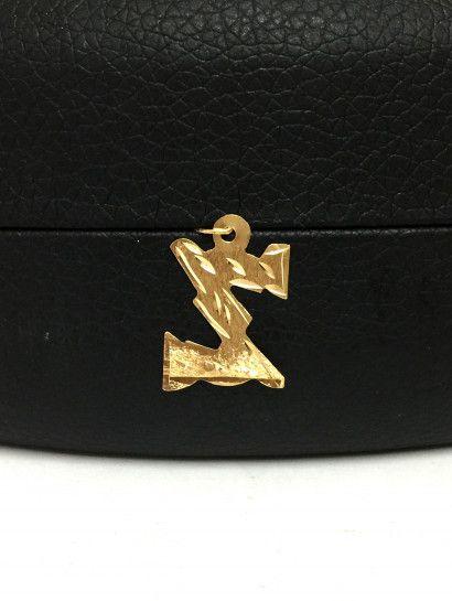 تعليقه ذهب عيار 18 حرف Z Porsche Logo Vehicle Logos Captain Hat