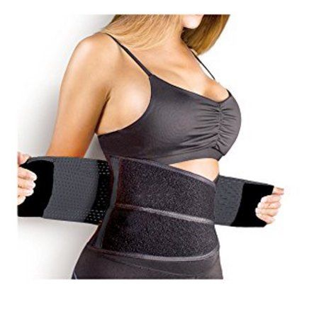 Sports Waist Trimmer Belt Curves Tone Body Fit Fitness Belly Clothes Dress New