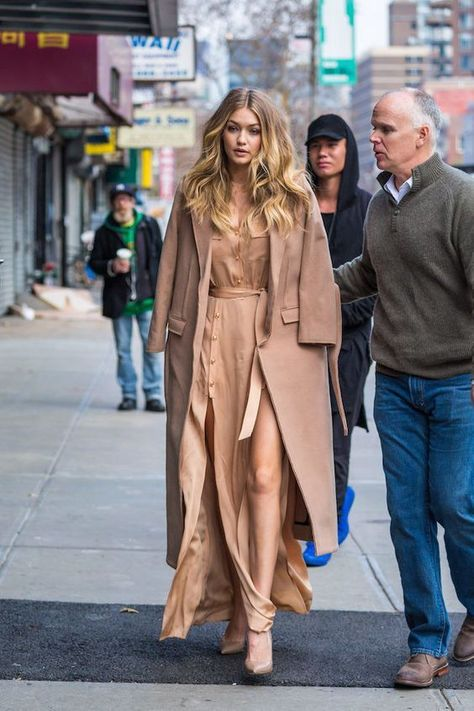 Who was going to tell Olivia Palermo that she was also going to coincide with Gigi Hadid?