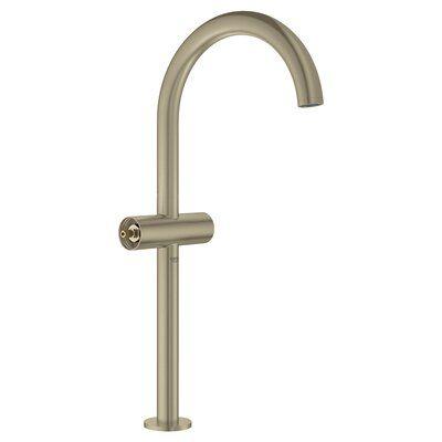 Grohe Atrio Single Hole Bathroom Faucet Finish Brushed Nickel