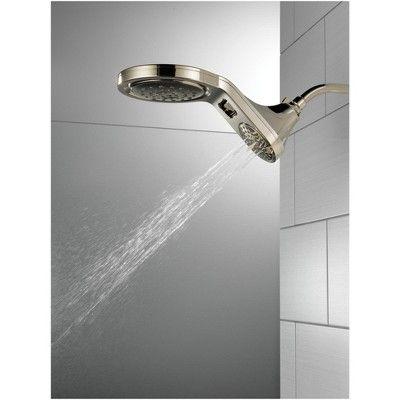 Delta Faucet 58580 Pk Hydrorain 1 75 Gpm 5 Function 4 Showerhead
