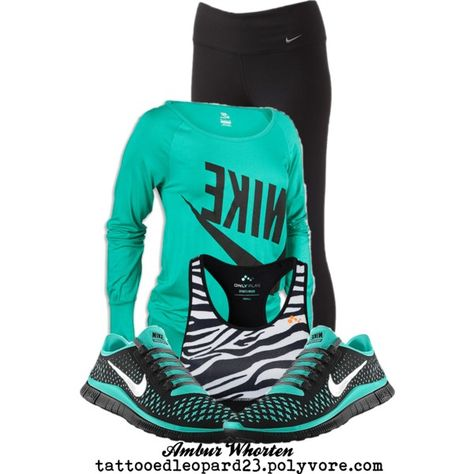 WorkOut In Style except the nike shoes.... they look great but dont feel great!