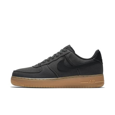 Nike Air Force 1 '07 LV8 Style Men's Shoe Size 12.5 (Black