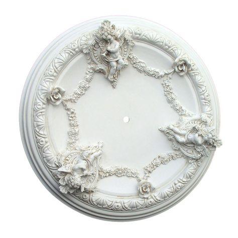 Cherub Ceiling Medallion