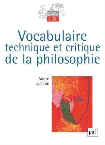 Telecharger Vocabulaire Technique Et Critique De La Philosophie Livre Pdf Author Publisher Livres En Ligne Pdf Vocabulaire Technique Et Books Ebooks Ebook Pdf