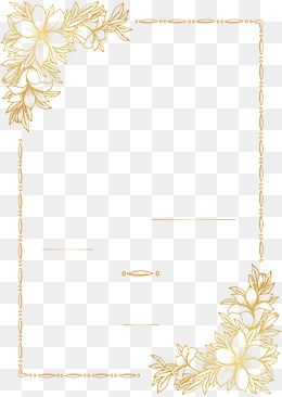 Vector Png Gold Paper Golden Pattern Hand Drawn Pattern European