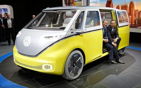 New Volkswagen E Bulli Electric Camper Van Pictures Auto Express In 2020 Volkswagen Vintage Vw Van Vintage Vw Camper