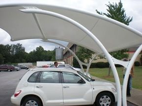 Latest Design Covered Parking Structures Vehicle Parking Shades Commercial Carport Specialized India Youtube Parking Design Park Shade Car Parking