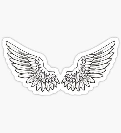 Justin Bieber Stickers Tatuagem Asas