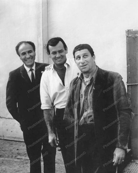 The Fugitive TV Cast Vintage 8x10 Reprint Of Old Photo - The Fugitive TV Cast Vintage 8x10 Reprint Of Old Photo