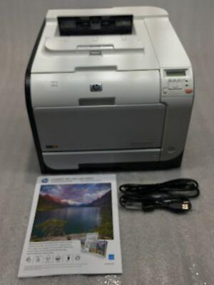 Hp Laserjet Pro 400 Color M451dn Laser Printer W Toner Page Count 8k Tested Ebay In 2020 Laser Printer Laser Toner Laser Toner Cartridge