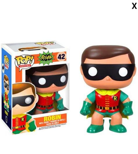 Robin pop doll- batman