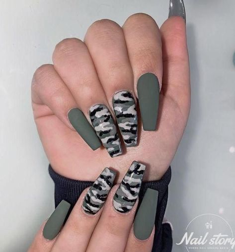 Matte White Acrylic Nails Ideas Alongside Nail Care Routine Douglas, Matte Black Na . - Matte White Acrylic Nails Ideas Next to Nail Care Routine Douglas, Matte Black Nails … – Matte - Cute Acrylic Nail Designs, Pretty Nail Designs, Camo Nail Designs, Unique Nail Designs, Coffin Nail Designs, Green Nail Designs, Colorful Nail Designs, White Acrylic Nails, Best Acrylic Nails