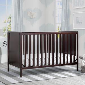 Heartland Classic 4 In 1 Convertible Crib Cribs Baby Boy Room Nursery Toddler Mattress
