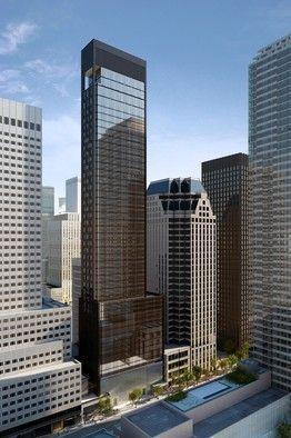 Baccarat Hotel Project Midtown Manhattan Edificios Contemporary Building Architecture Skyscraper Architecture