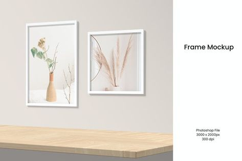 Frame mockup by yellowgold on Envato Elements