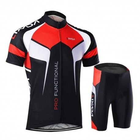 Mens Road Biking Jersey Padded Bicycle Shorts Suits Breathable Bike Appreal Sets