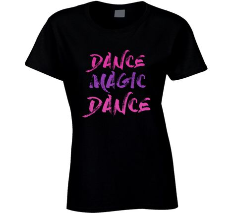 Dance Magic Dance T-shirt Labyrinth Tshirt Dance Magic Song t shirt