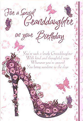 Free Granddaughter Birthday Cards