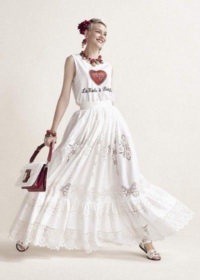 69f7585d8c49 Collezione Donna Primavera Estate 2019: Corredo | Dolce & Gabbana ...