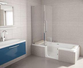 Artweger twinline bad douche combinatie interieur badkamer