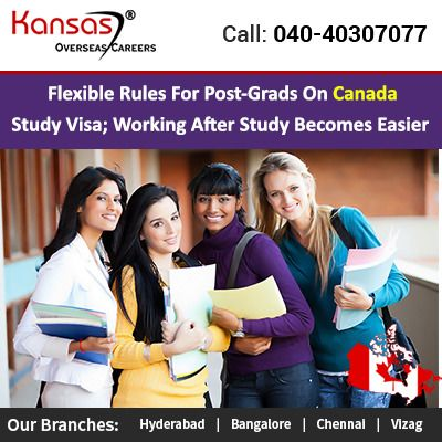 Flexible Rules For Post Grads On Canada Study Visa Canadian