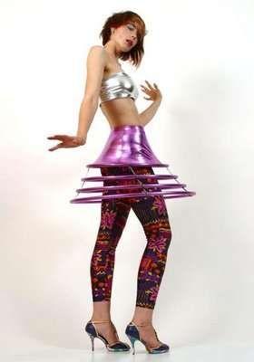 hoop skirt--cool for retro scifi