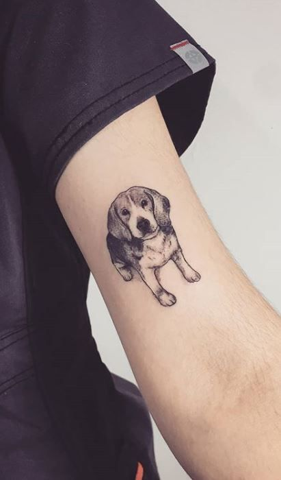 27 Of The Best Beagle Dog Tattoo Ideas Ever Petpress Beagle Tattoo Tattoos For Dog Lovers Dog Tattoo