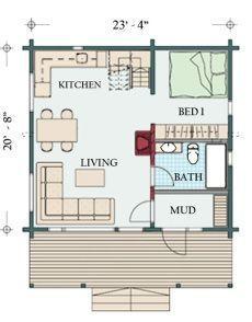 Cottage Floor Plan Sm