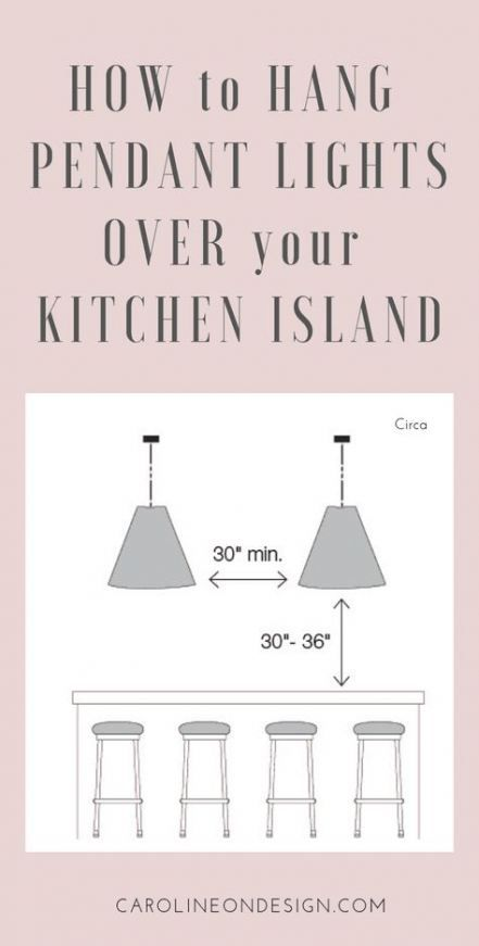 41 Super Ideas For Pendant Lighting Over Peninsula Cabinets